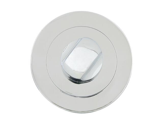 Szyld drzwiowy okrągły 600 WC chrom lakierowany Domino