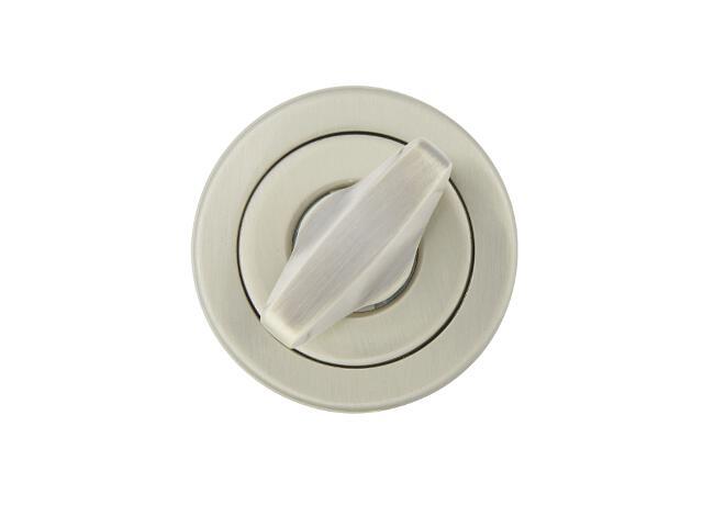 Szyld drzwiowy okrągły 780 WC nikiel lakierowany TUPAI