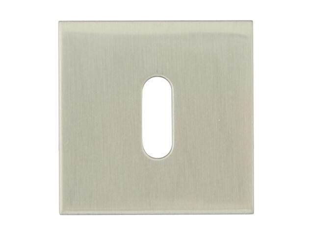 Szyld drzwiowy kwadratowy KWADRAT-QR klucz nikiel lakierowany TUPAI