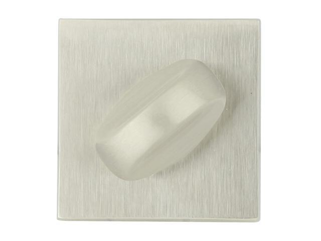 Szyld drzwiowy kwadratowy 544 WC nikiel lakierowany ROSSETTI
