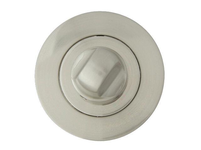 Szyld drzwiowy okrągły ORO-R WC nikiel lakierowany ORO&ORO