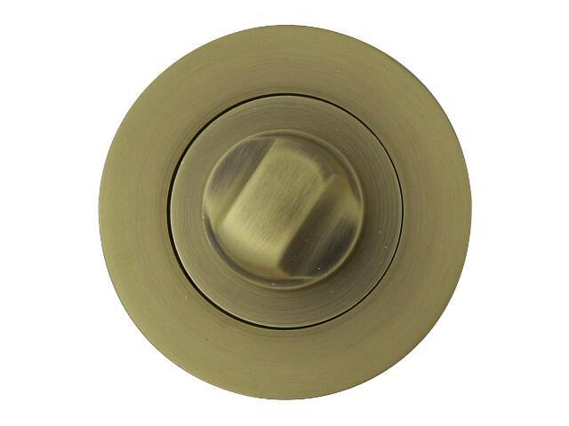 Szyld drzwiowy okrągły ORO-R WC brąz grafiatto mat ORO&ORO