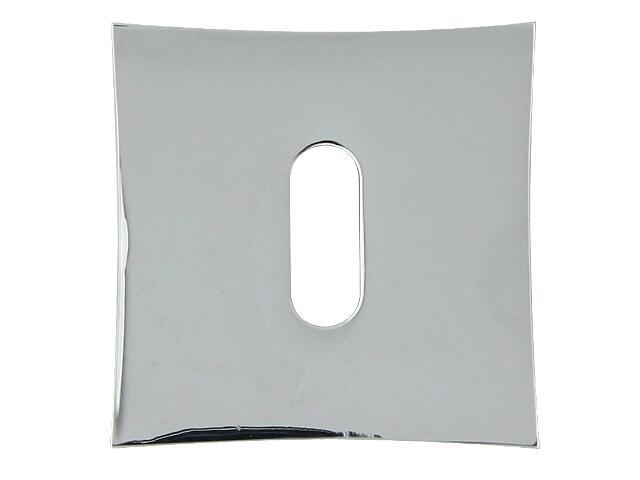 Szyld drzwiowy kwadratowy ORO-QR klucz chrom lakierowany ORO&ORO