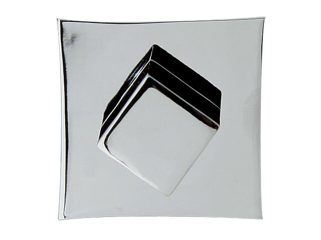 Szyld drzwiowy kwadratowy ORO-QR WC chrom lakierowany ORO&ORO