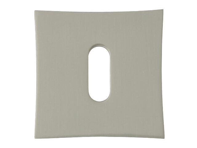 Szyld drzwiowy kwadratowy ORO-QR klucz nikiel lakierowany ORO&ORO