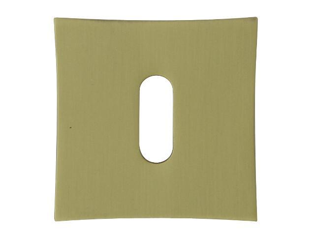 Szyld drzwiowy kwadratowy ORO-QR klucz brąz grafiatto mat ORO&ORO