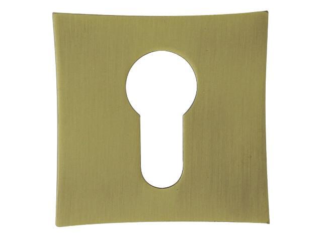 Szyld drzwiowy kwadratowy ORO-QR wkładka bębenkowa brąz grafiatto mat ORO&ORO