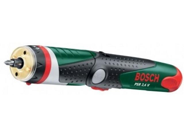 Wkrętarka akumulatorowa PSR Pivot 3,6V z walizką 603938720 Bosch