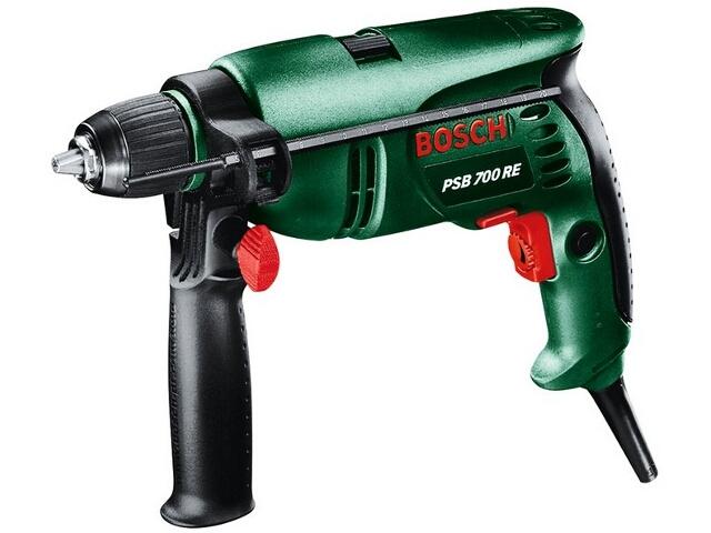Wiertarka udarowa sieciowa PSB 700 RE Press+Lock z walizką 700W 603386465 Bosch