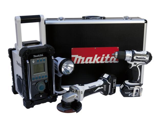 Zestaw elektronarzędzi LXT315WBMR z walizką Makita