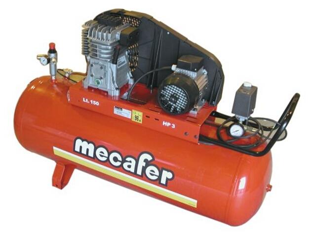 Kompresor elektryczny olejowy 150l Mecafer