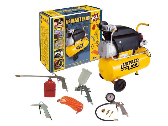 Kompresor elektryczny olejowy 24l Master Kit