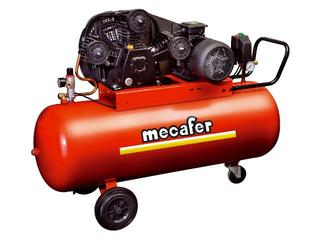 Kompresor elektryczny olejowy z napędem pasowym 150L Mecafer