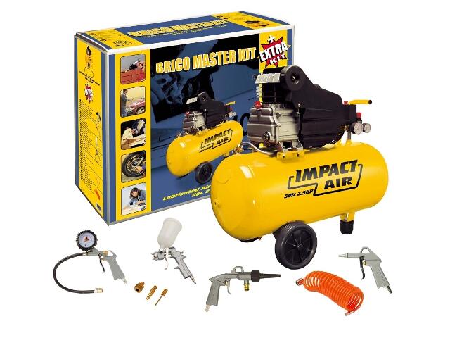 Kompresor elektryczny olejowy 50l Master Kit
