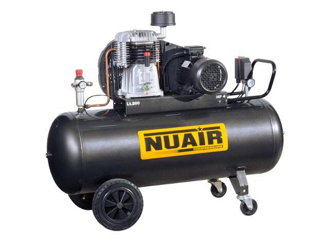 Kompresor elektryczny olejowy 200l 4KM 11bar NuAir