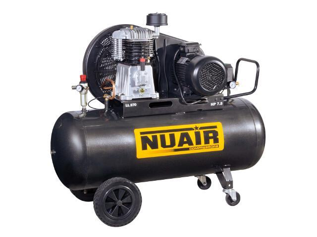 Kompresor elektryczny olejowy 270l 7,5KM 11 bar NuAir