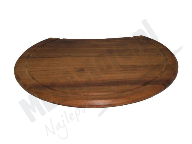 Deska do zlewozmywaków drewniana okrągła (do Hydrii) 073022301 Pyramis