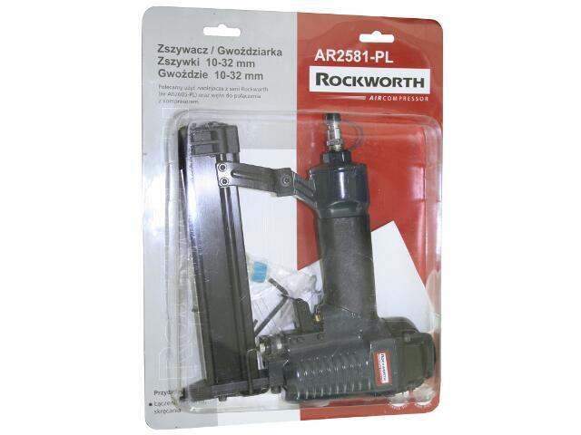Zszywacz pneumatyczny 2 w 1 Rockworth