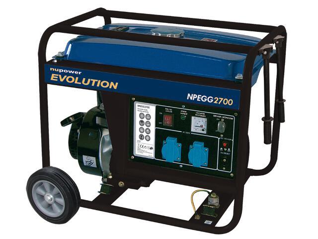 Agregat prądotwórczy NPEGG 2700 2,6kW NuPower Evolution