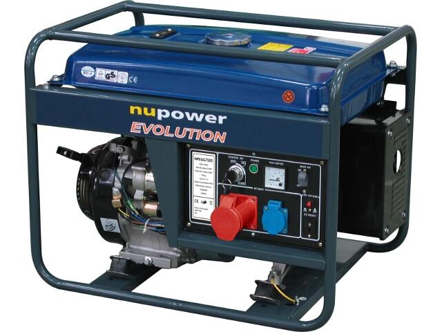 Agregat prądotwórczy 7,5kW 3-fazowy NuPower Evolution