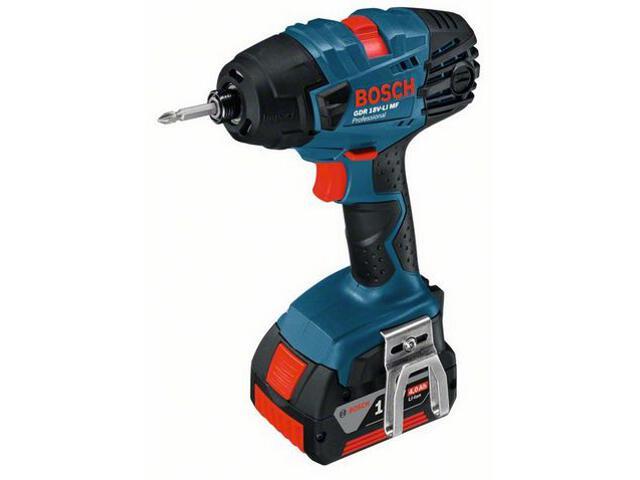 Klucz udarowy akumulatorowy GDR 18 V-LI MF bez akumulatorów i ładowarki 6019A1001 Bosch