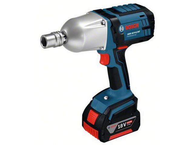 Klucz udarowy akumulatorowy GDS 18 V-LI HT 18V bez akumulatorów i ładowarki 6019B1300 Bosch