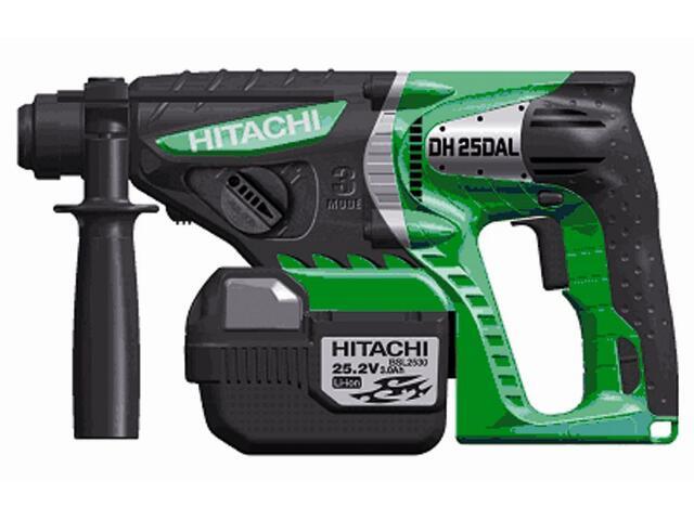 Młotowiertarka SDS-Plus akumulatorowa 25,2V DH25DAL Hitachi