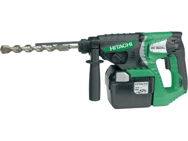 Młotowiertarka SDS-Plus akumulatorowa 36V DH36DAL Hitachi
