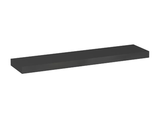 Półka pod lustro VARIUS 76x3,8x18cm ciemny grafit 88155000 Koło