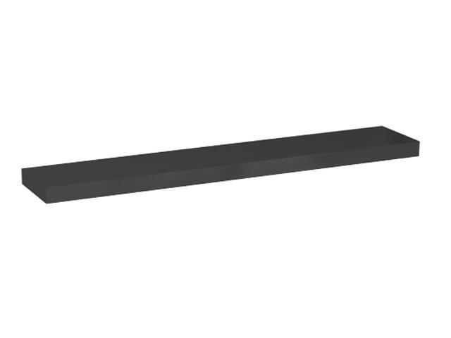 Półka pod lustro VARIUS 96x3,8x18cm ciemny grafit 88156000 Koło