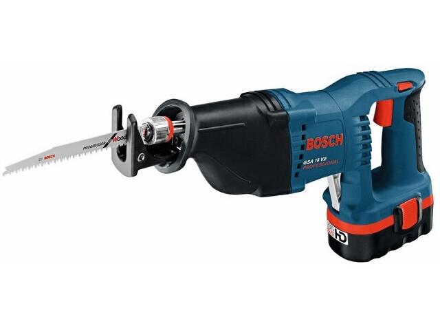 Pilarka szablasta akumulatorowa GSA 18VE 1x2,6 NiMH z walizką 60164G001 Bosch