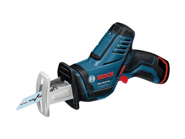 Pilarka szablasta akumulatorowa GSA 10,8 V-Li 2x1,3Ah Bosch