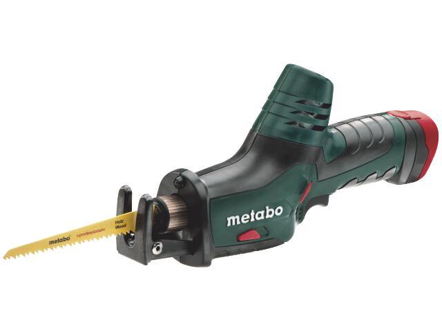 Pilarka szablasta akumulatorowa PowerMaxx ASE 2x1,5Ah z walizką Metaloc 10,8V Metabo