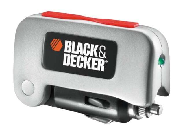 Przetwornik 12V/5V, 2x5W, 2xUSB, do gniazda zapalniczki BDPC10USB Black&Decker