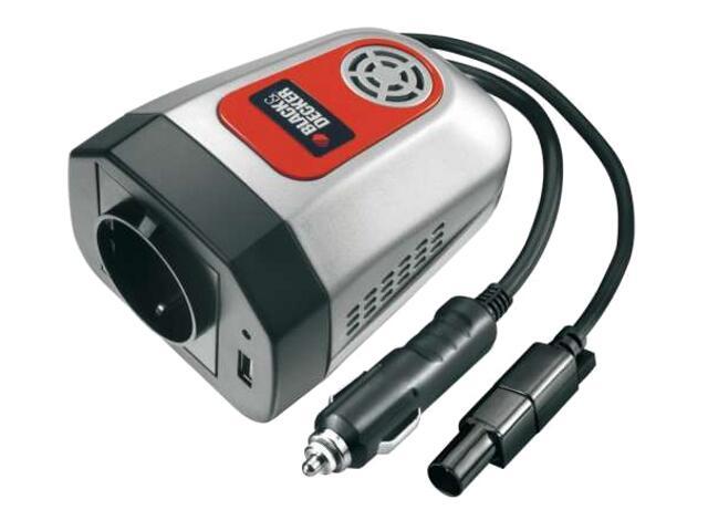 Przetwornik 12V/230V, 100W/5W, 1 port USB BDPC100A Black&Decker