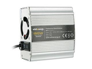 Przetwornica samochodowa DC 24VAC 230V 150W + USB 06576 Whitenergy