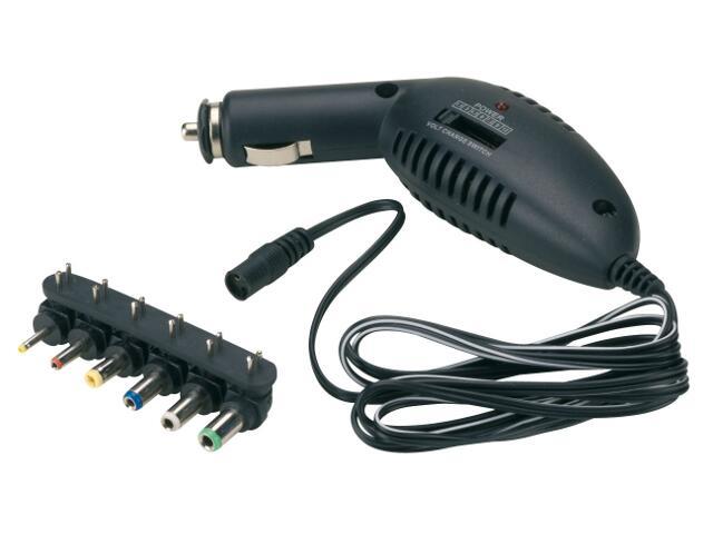 Ładowarka z adapterami 12V, 1,5V,3V,4,5V,6V,7,5V,9V Bottari
