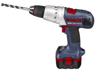 Wiertarka udarowa akumulatorowa GSB 14,4VE-2 2x2,6 NiMH z walizką 601994H20 Bosch