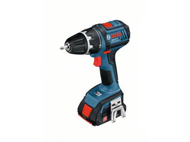 Wiertarko-wkrętarka GSR 18 V-Li 2x1,3Ah Bosch
