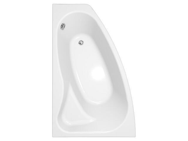 Wanna asymetryczna SICILIA NEW 160 lewa z hydromasażem DUOTRONIC SIMPLE S301-036-DS