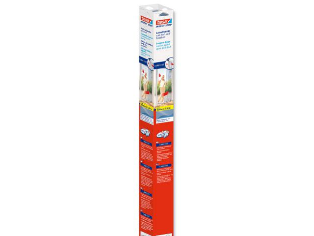 Moskitiera drzwiowa Comfort Lamella 0,95x2,2m biała Tesa Tape