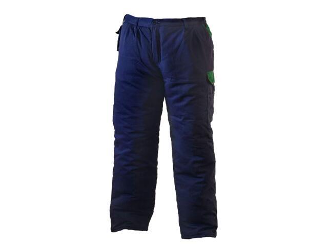 Spodnie robocze ocieplane SPTOGZ GZ rozm. L granatowo-zielony REIS