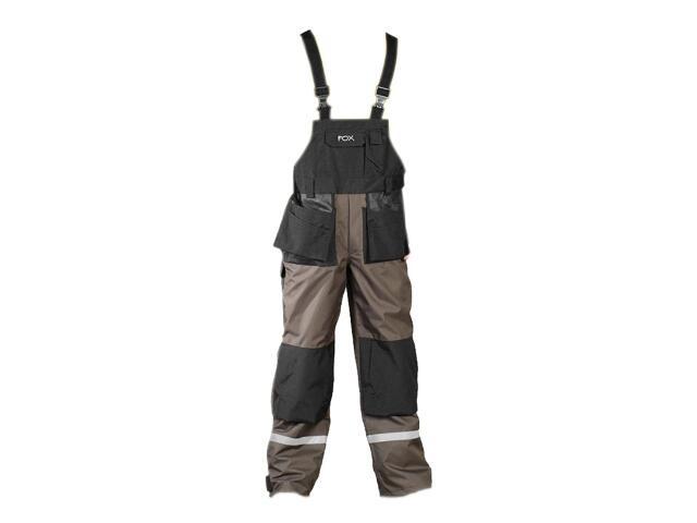 Spodnie robocze FOXER LH-FOXER-B rozm. 48 oliwkowy LEBER&HOLLMAN