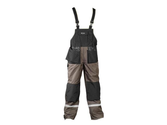 Spodnie robocze FOXER LH-FOXER-B rozm. 60 oliwkowy LEBER&HOLLMAN