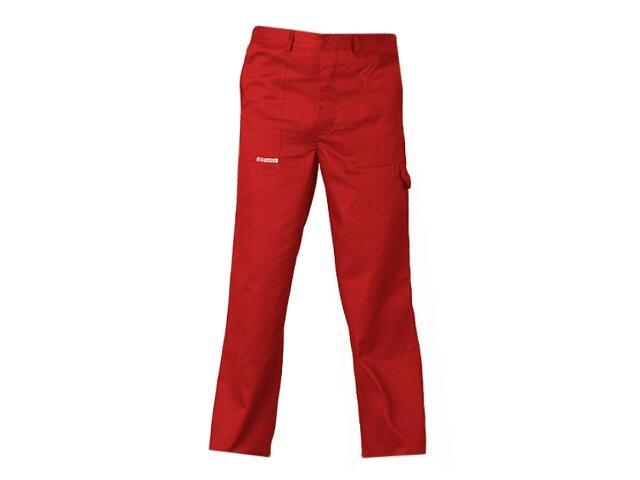 Spodnie robocze MASTER SPM C rozm. 62 czerwony REIS