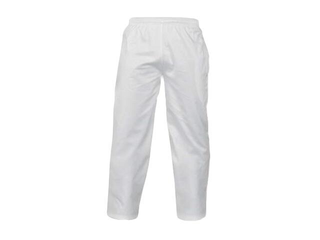 Spodnie robocze LH-FOOD+TRO W rozm. M biały LEBER&HOLLMAN