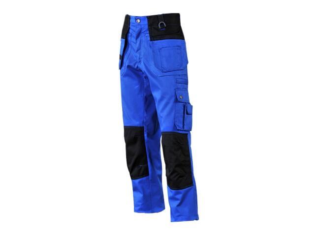 Spodnie robocze LH-BUNLER NB rozm. 58 niebiesko-czarny LEBER&HOLLMAN