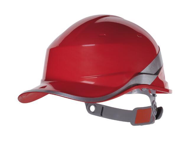 Kask budowlany BASEBALL DIAMOND DIAM5 czerwony Venitex