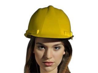 Kask budowlany UNIVER-KAS Y żółty REIS