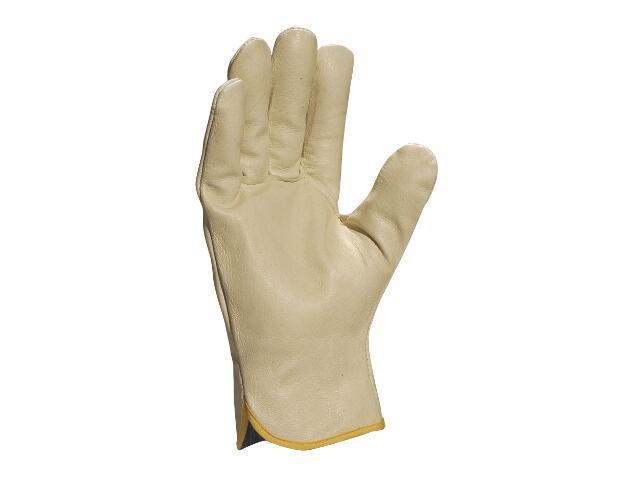 Rękawice wzmacniane ze świńskiej skóry licowej FP159 rozm. 10 Venitex